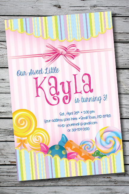 Personalized Invitations You Print Cards